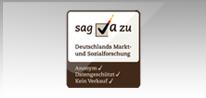 Wir unterstützen die Initiative Markt- und Sozialforschung.